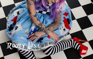 Alice in Wonderland Wedding Dress Image - Rooby Lane