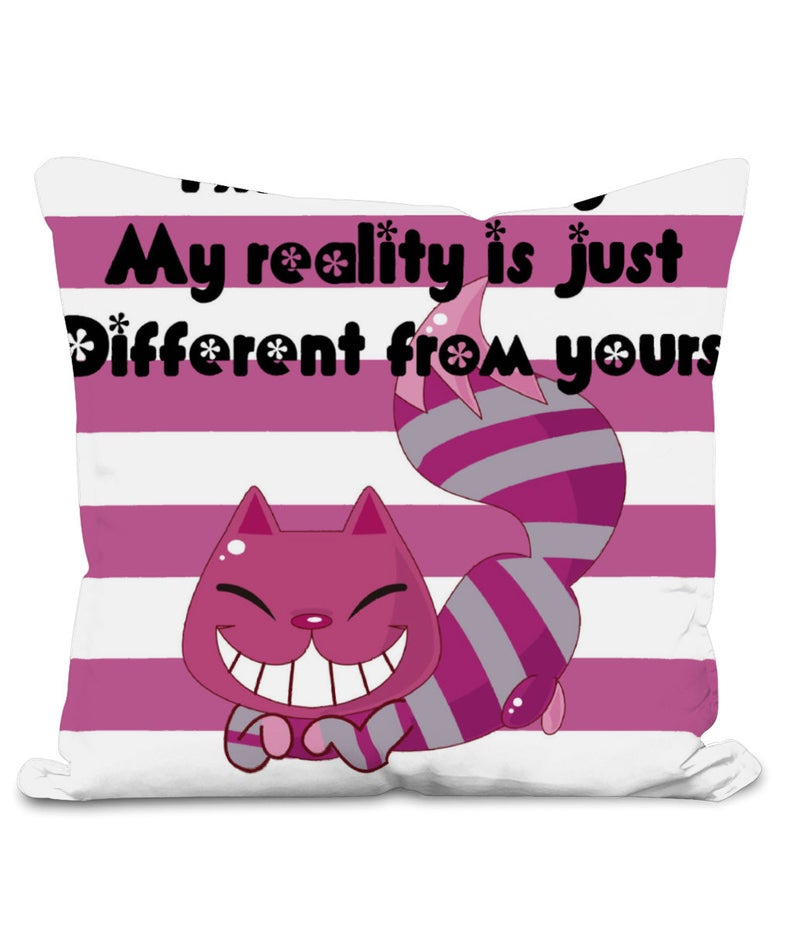 Cheshire Cat Gift Cushion Image - Rooby Lane