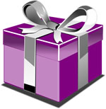 Quirky Gift Box Illustration - Quirky Shops