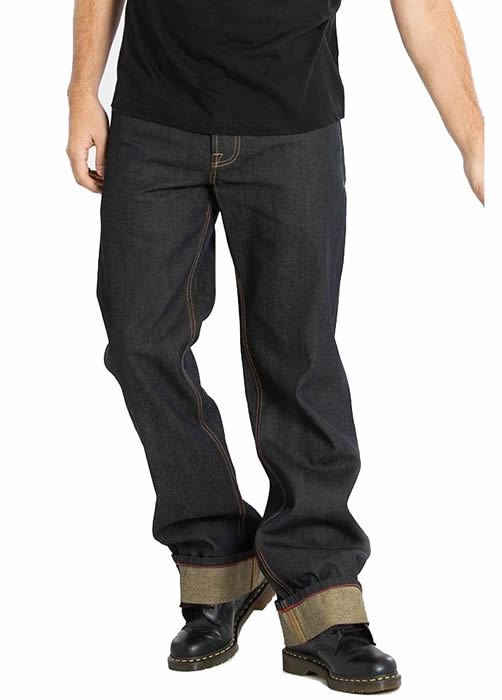 Chet Rock Loose Larry Jeans - Attitude Clothing Image