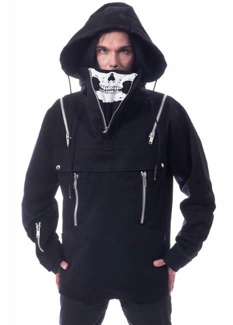 Gothic Jacket - Heartless Creeper - Attitude Clothing Image