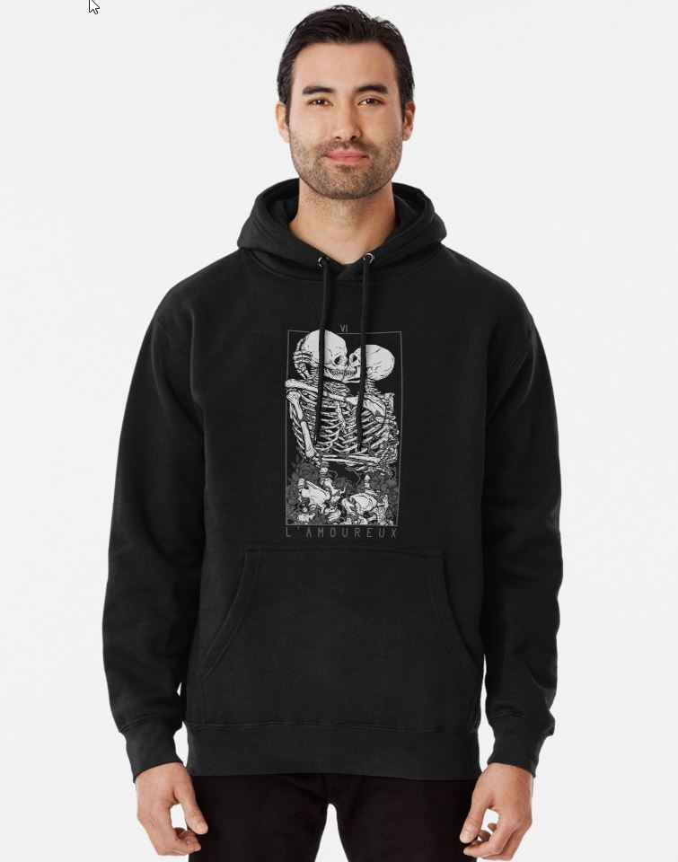 Redbubble The Lovers Pullover Hoodie