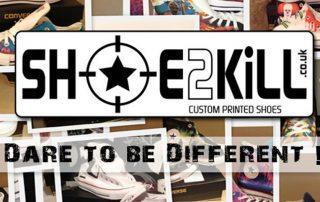 Shoe2kill custom shoes banner
