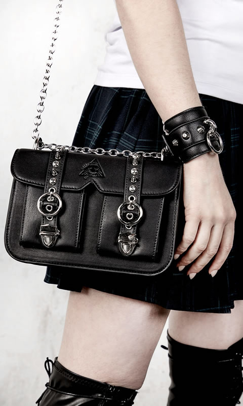 Kiki Mini Satchel Bag - Disturbia