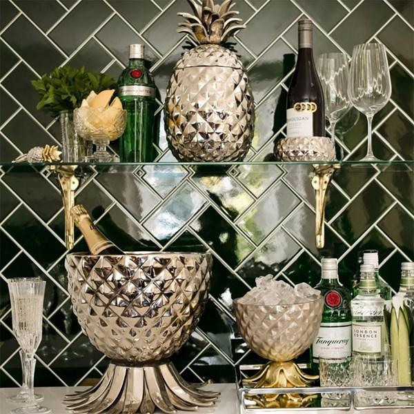 Pineapple Ice Bucket with Lid - Cuckooland