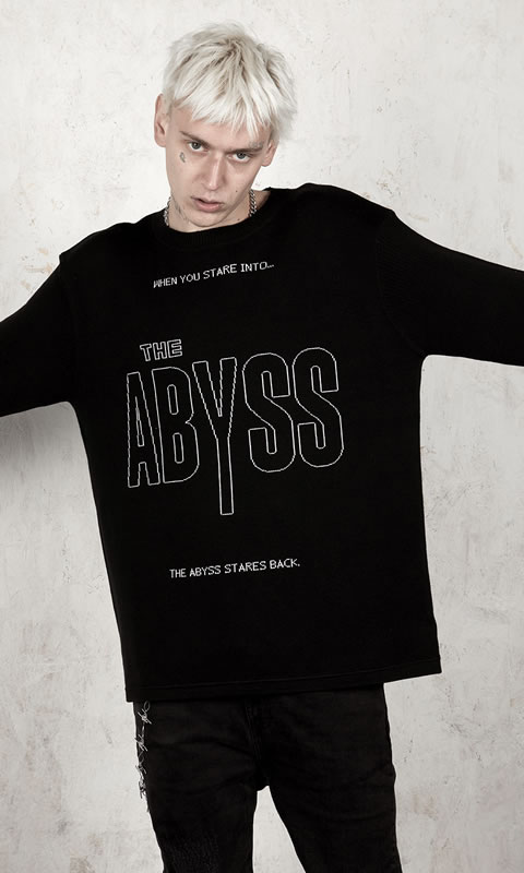 The Abyss crew neck jumper - Disturbia