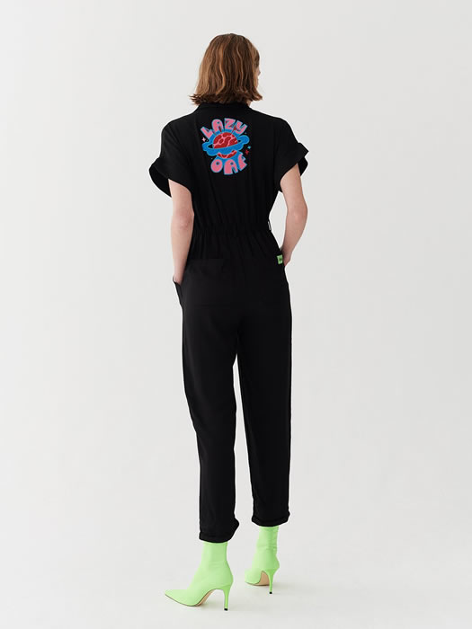 Another Planet Jumpsuit - Lazy Oaf