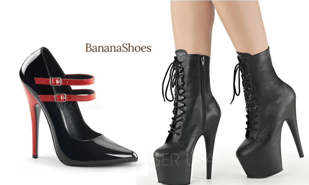 Banner Shoes - Huge Collection of Heels Boots and Platforms