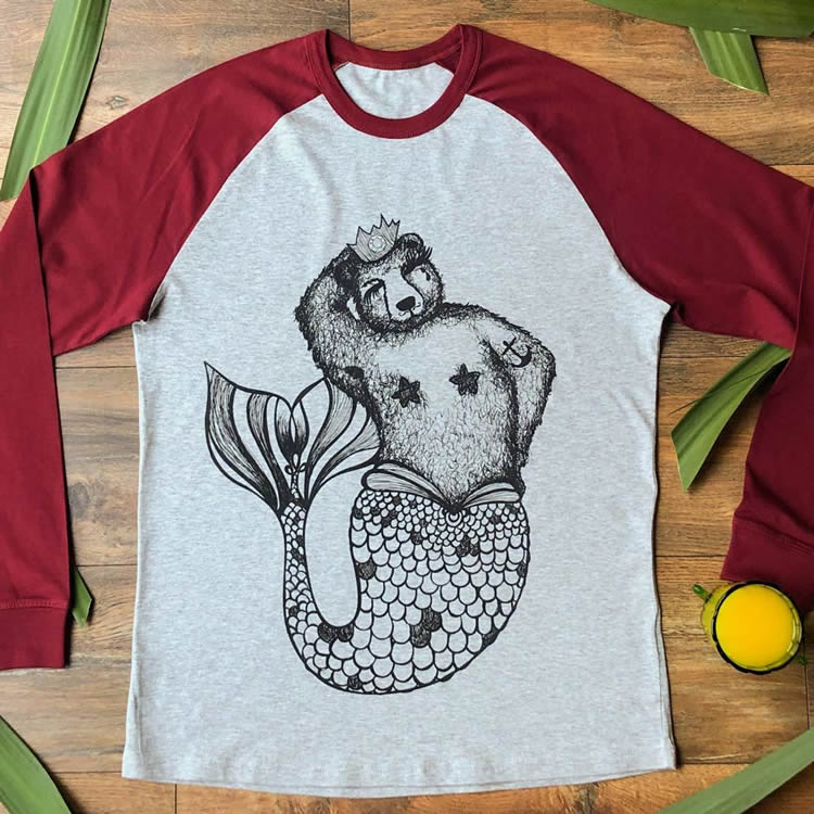 Brian Queen of the Sea Tee - Dont Feed The Bears