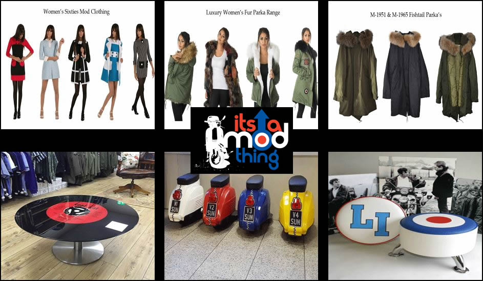 Its a MOD Thing - Mod Clothing Shop Banner
