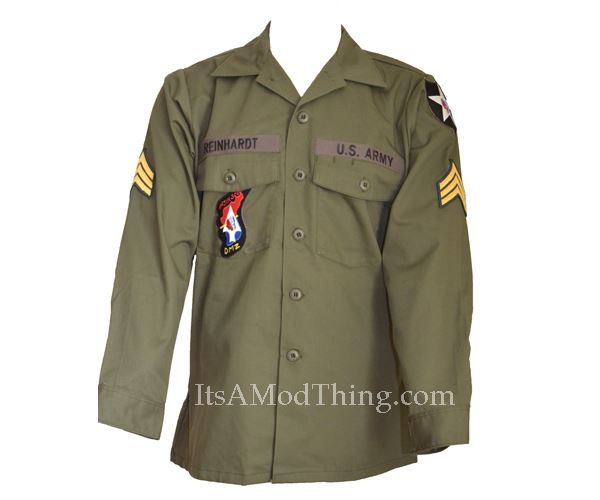 John Lennon Military Shirt - its a mod thing