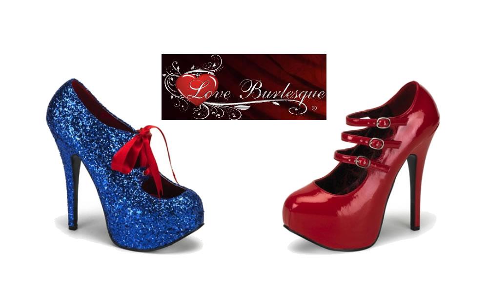 Love Burlesque for Beautiful High Heels