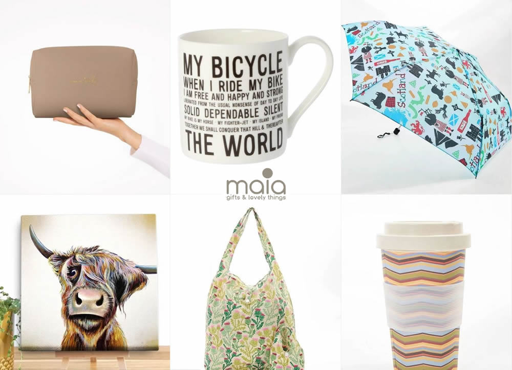 Maiagifts - Quirky and unique gifts for all - Banner