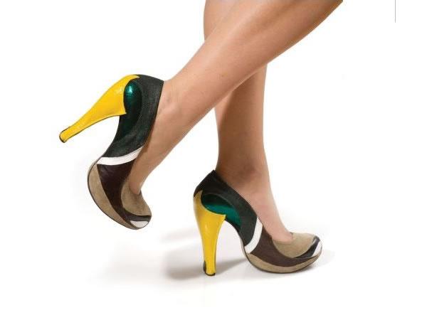 Mallard Duck Heels - Kobi Levi