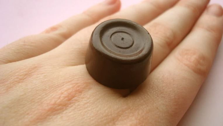 Rolo Ring - Jelly Button Jewellery