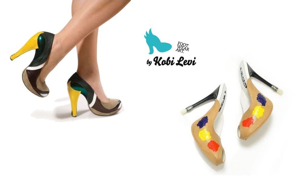 Shoe Art by Kobi Levi