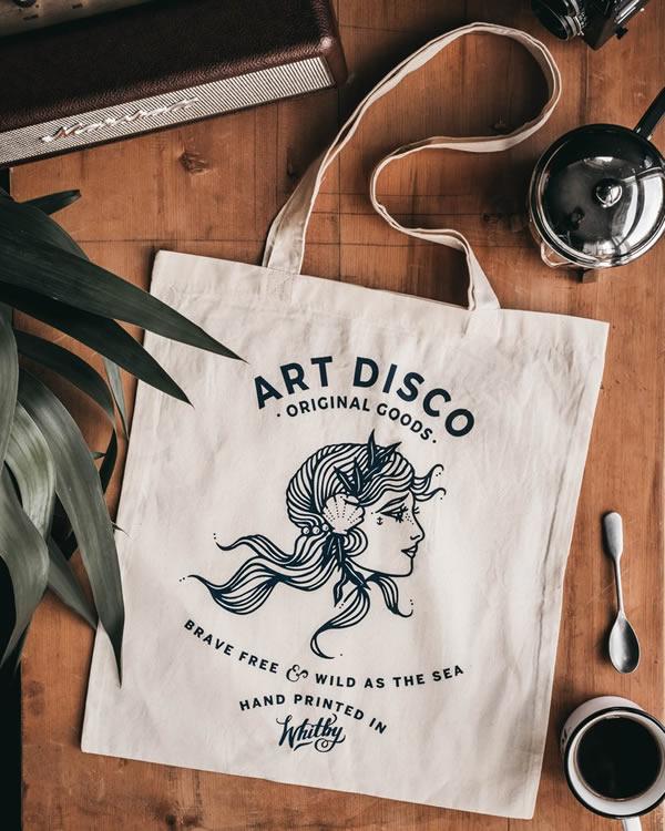 Tote Bag - Art Disco