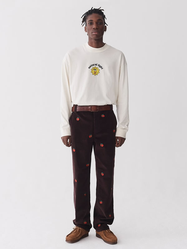 All The Apples Cord Pants - Lazy Oaf