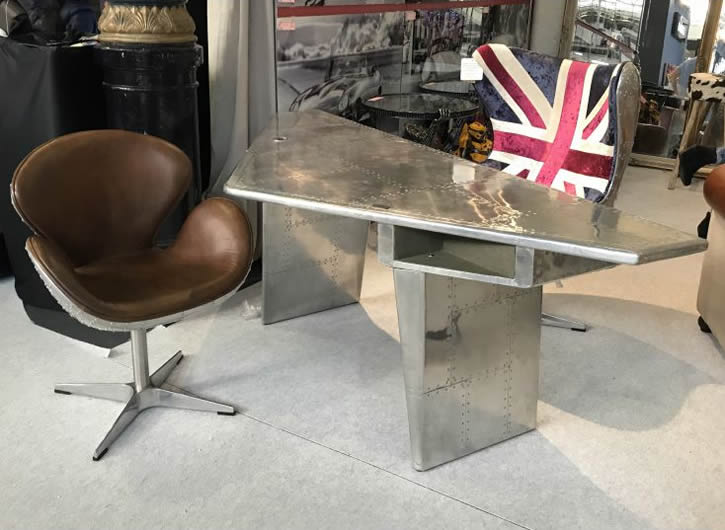 Aviator Airplane Wing Desk - Smithers of Stamford