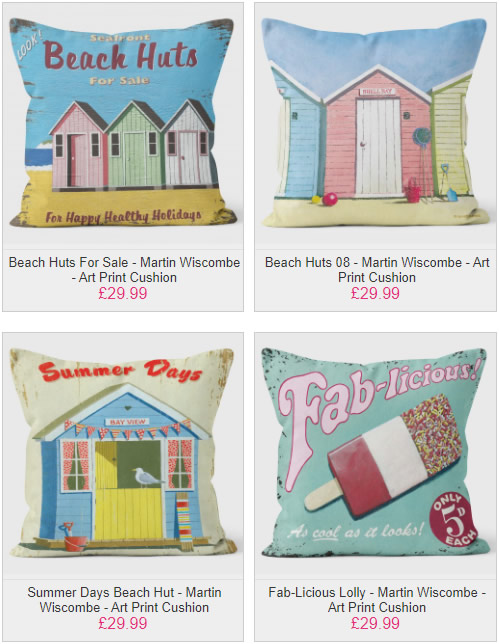 Beautiful Beach Scene Cushions - We Love Cushions