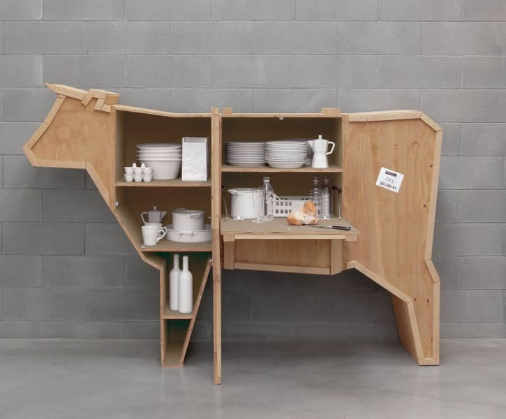 Cow Cabinet - Smithers of Stamford