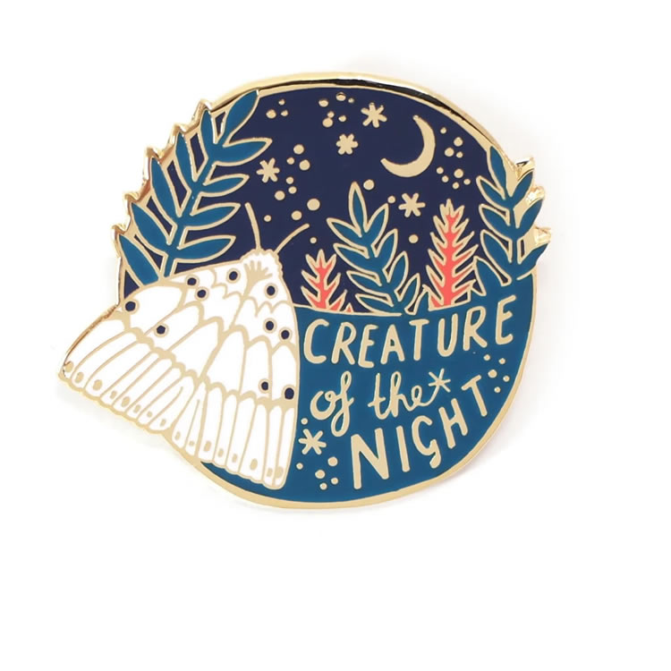 Creature of the Night Pin - Hannah Zakari