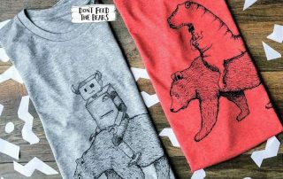 Dont feed the bears tee and fashions banner mens
