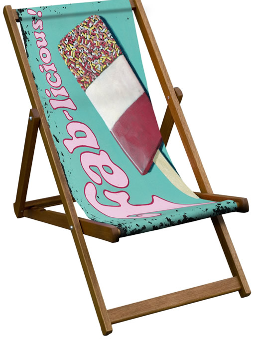 Fab Lolly Deck Chair - We Love Cushions