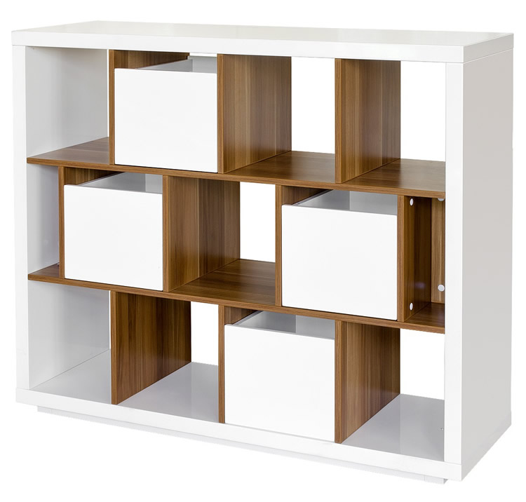 Funky Square Storage Shelf Unit - Fabulous Furniture