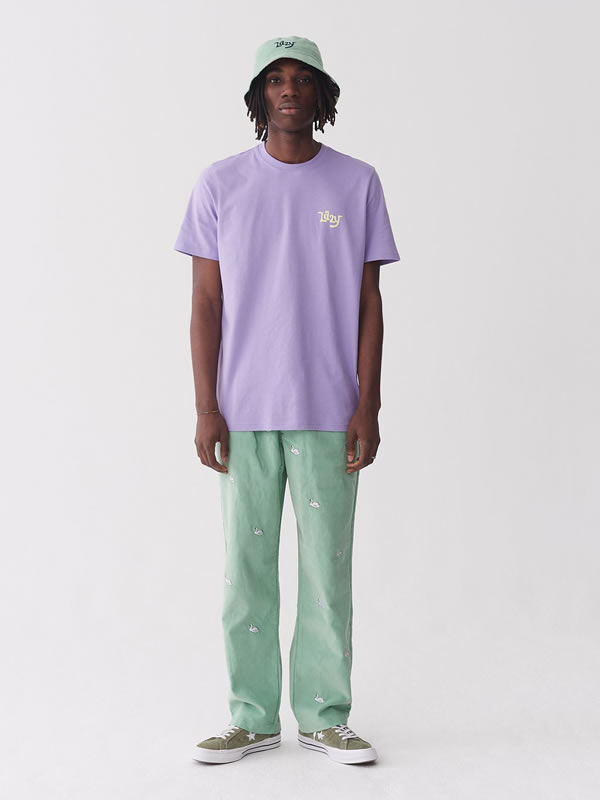 Golden Years Purple T Shirt - Lazy Oaf