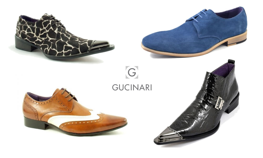 Gucinari Funky and Quirky Shoes Banner