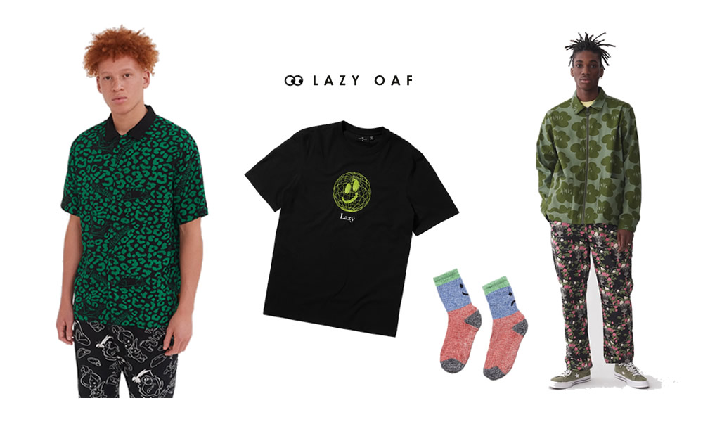 Lazy Oaf Menswear Banner Quirky Shops