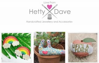 Love from Hetty and Dave Jewellery and Accessories Banner