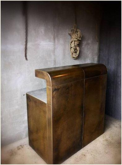 Modular Brass Bar - Quirky Interiors