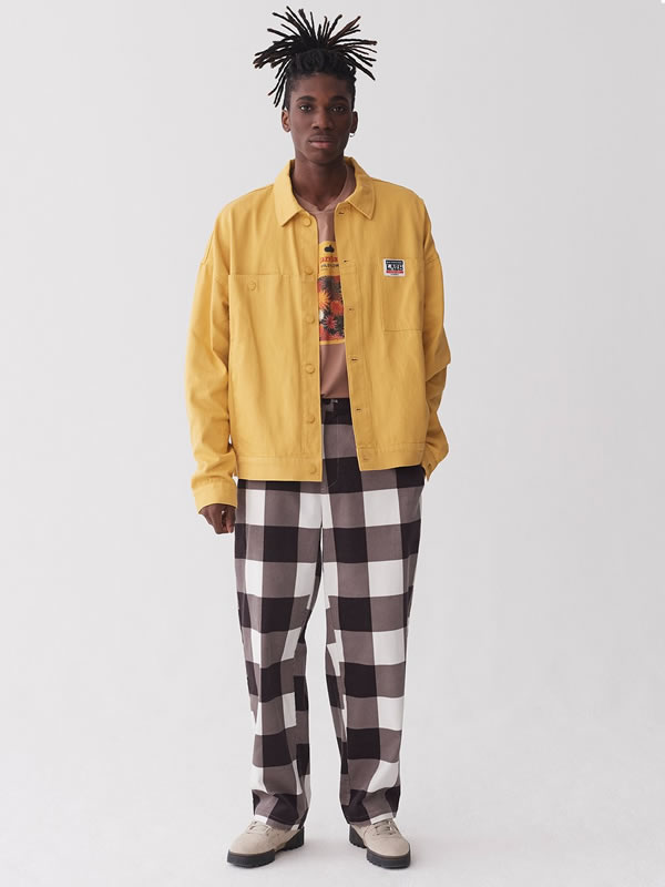 No Worries Mustard Jacket - Lazy Oaf