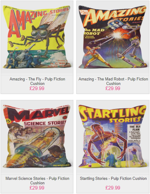 Pulp Fiction Cushion Collection - We Love Cushions
