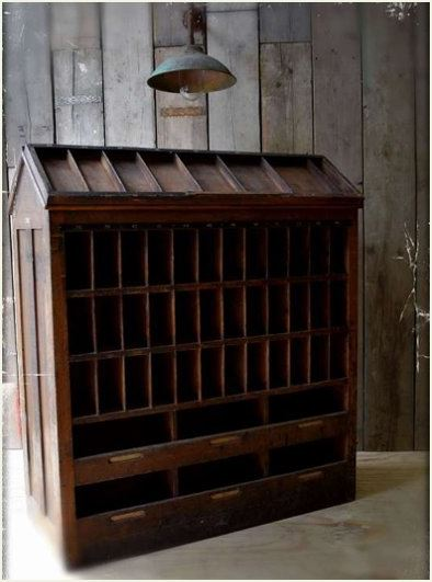 Rare vintage printers cabinet - Quirky Interiors
