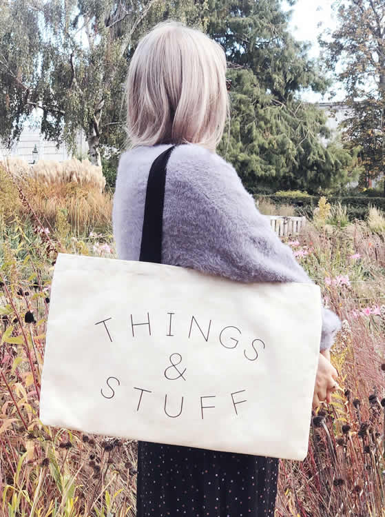Things and Stuff Tote - Alphabet Bags
