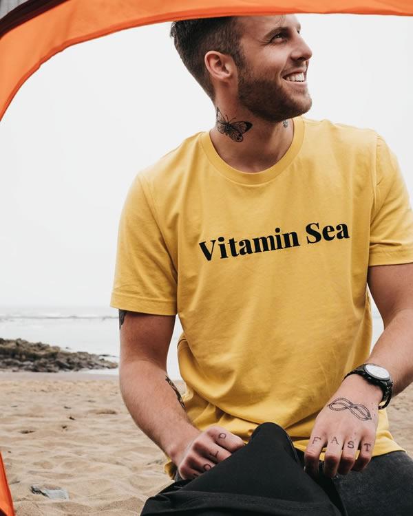 Vitamen Sea T-Shirt - Art Disco