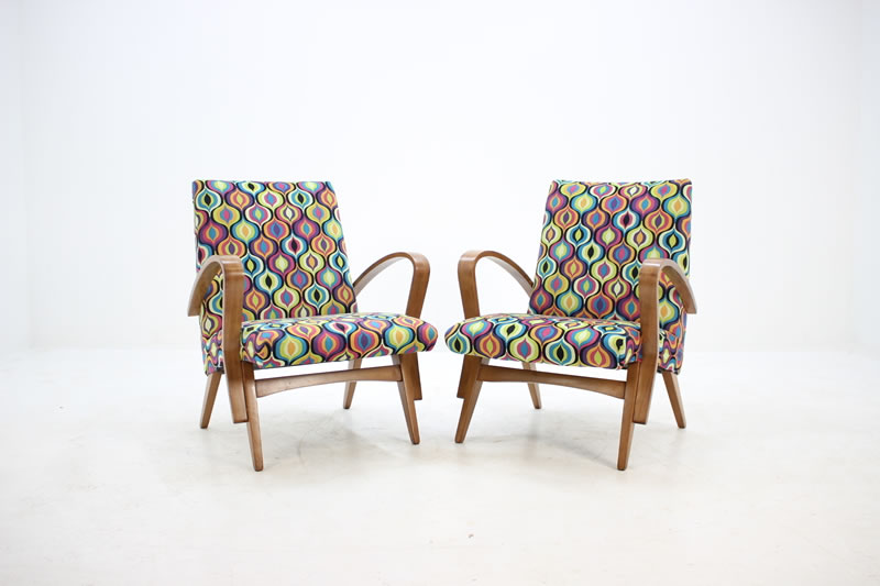 1960s czechoslovakian tatra armchairs by jirak frantisek - Vinterior