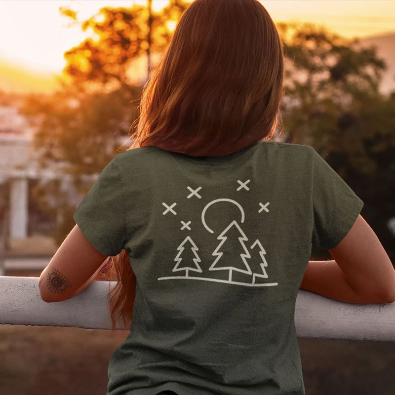 Adventure At Night - Organic Cotton T-Shirt - Kind Clothing