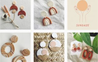 Sundaze Jewellery Polymer Clay Earrings Banner