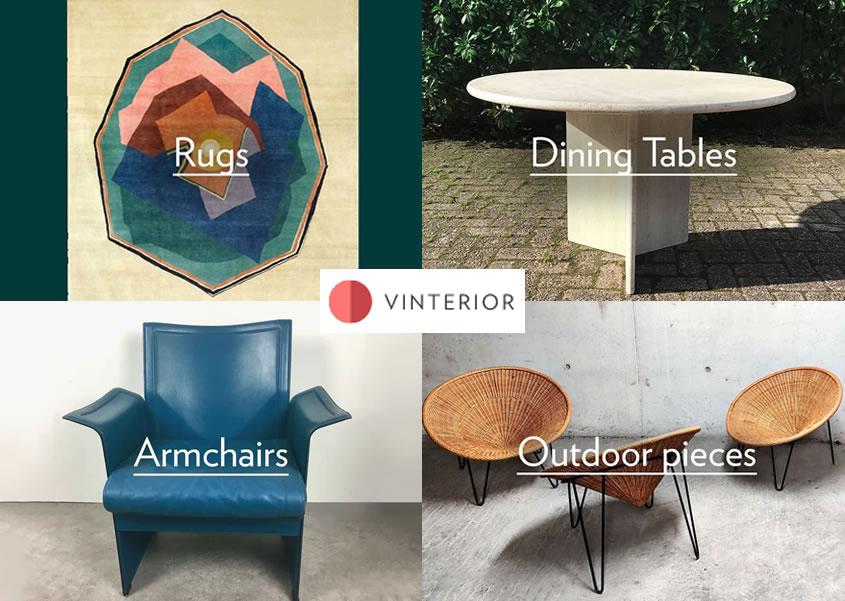 Vinterior Main Furniture and Homewares Banner