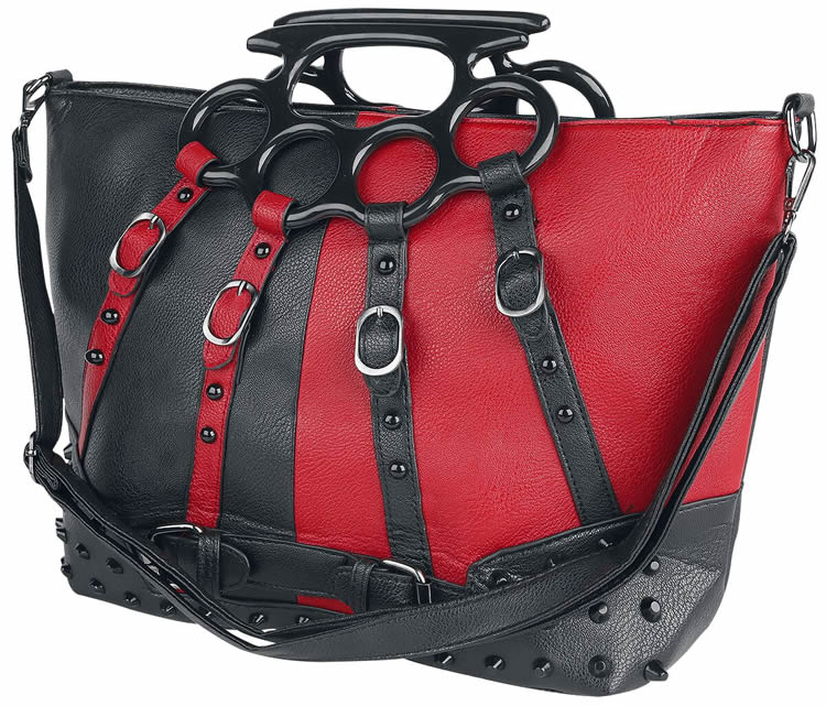 Harley Bag in Black and Red - EMP