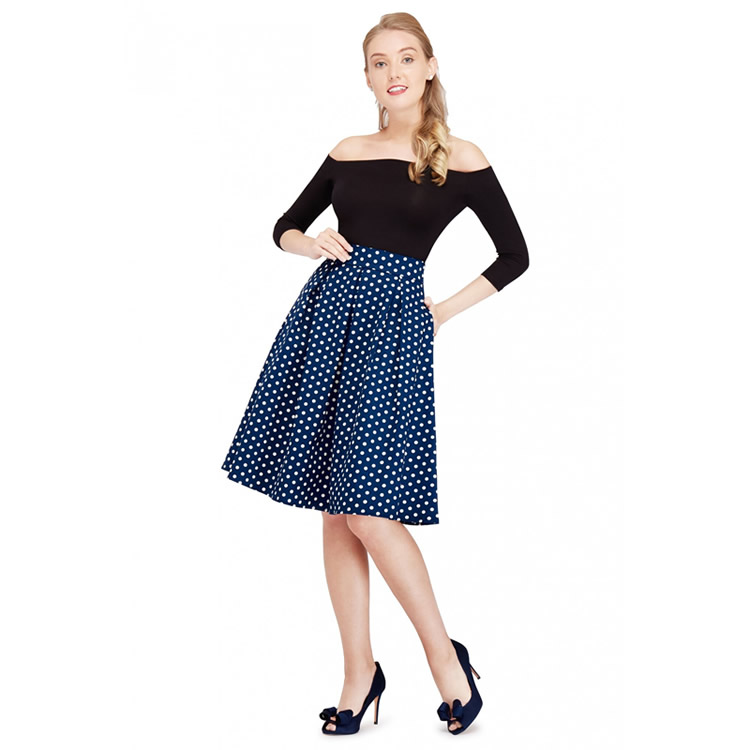 Polka Skirt by Dolly and Dotty - Fifis Rockabilly Boutique