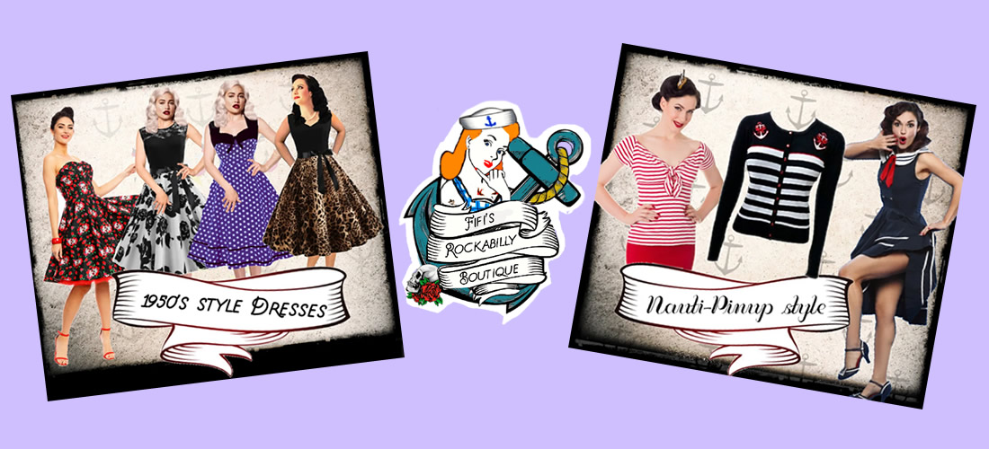 Rockabilly fashions and accessories by Fifis Rockabilly Boutique