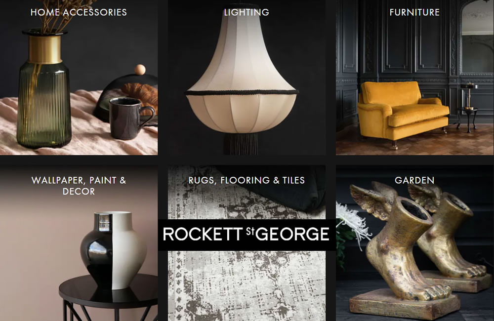 Rockett st george Quirky Furniture and homewares banner - Quirky shops