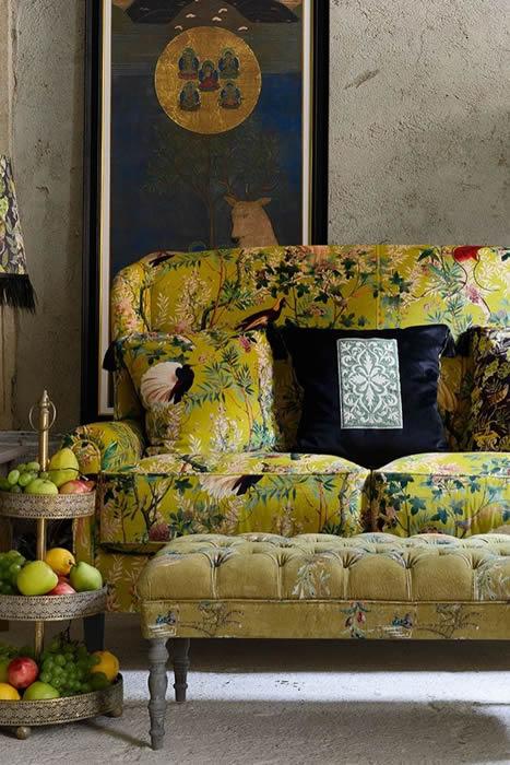 rockettstgeorge mind the gap abigail 2 seater sofa in cotton velvet