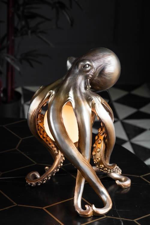 rockettstgeorge octopus table lamp